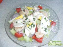 Sałatka z kurczakiem wg kolia71