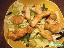 Sałatka z kurczakiem wg szpileczki