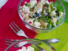 Sałatka z kuskusem i warzywami