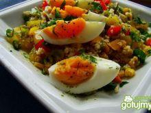 Sałatka z kuskusu i jajka