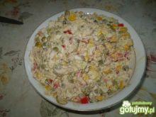 Sałatka z makrelą 2