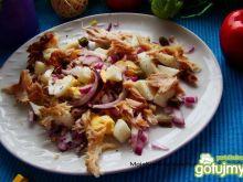 Sałatka z makreli i jajka