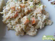 Sałatka z makreli i marchewki