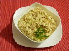 Sałatka z makreli z kolbami kukurydzy