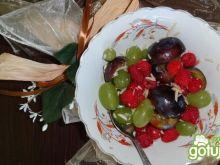 Sałatka z malinami