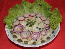 Sałatka z małżami