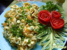 Sałatka z mandarynką i ananasem
