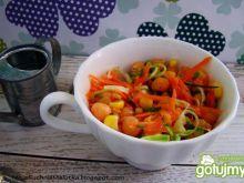 Sałatka z marchewki i cieciorki