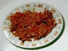 Sałatka z marchwi Sambal Gajjar (Indie)