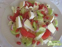 Sałatka z marynowanym zielonym pieprzem