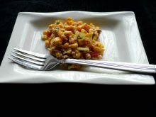 Sałatka z mięsem i kuskusem