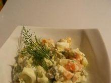Sałatka z młodych ziemniaków i koperku