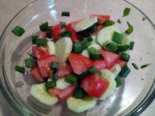 Sałatka z ogórka i pomidora