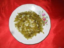 Sałatka z ogórka kiszonego