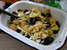 Sałatka z oliwek i mozzarelli