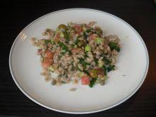 Salatka z orkiszu.