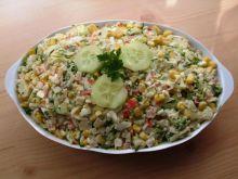 Salatka z paluszkami krabowymi II