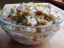 Salatka z paluszkami krabowymi III