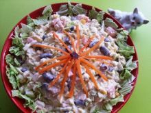 Salatka z pekinka z feta