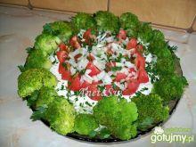 Sałatka z pekinki i brokuła