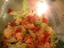 Sałatka z pekinki i pomidora