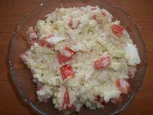Sałatka z pekińskiej i ryżu
