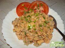 Sałatka z pieczonym kurczakiem 3