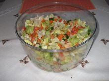 Salatka z pieczonym kurczakiem