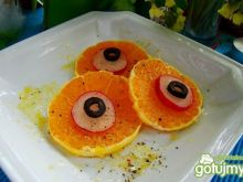 Sałatka  z pomarańczy i rzodkiewki