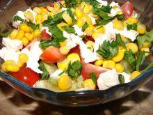 Sałatka z pomidorkami i fetą