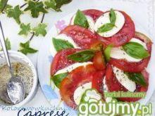Sałatka z pomidorów (Caprese)