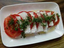 Sałatka z pomidorów i sera feta