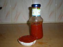 Sałatka z pomidorów na zimę a la keczup.