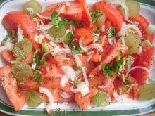 Sałatka z pomidorowa
