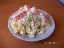 Sałatka z porów, jaj i ziemniaków
