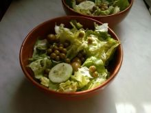 Salatka z prowansalskim vinegrette