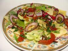 Sałatka z ravioli