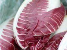 Sałatka z rukoli i sałaty Radicchio
