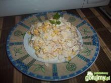 Sałatka z ryżem i kurczakiem 3