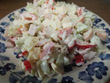Sałatka z ryżem i papryką