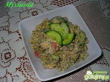 Salatka z ryżem szpiankowym