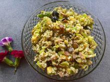 Sałatka z ryżem, tuńczykiem i awokado