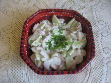 Sałatka z rzodkiewek i ogórka