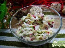 Sałatka z rzodkiewek i ogórka zielonego