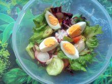 Sałatka z rzodkiewką i jajem