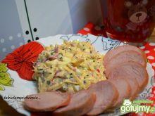Sałatka z rzodkiewki i sera
