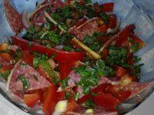 Sałatka z salami