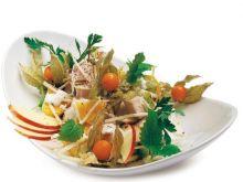 Sałatka z selera, ananasa i kurczaka