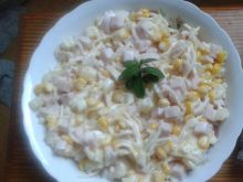 Sałatka z selera i ananasa