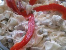 Sałatka z selera konserwowego i papryki